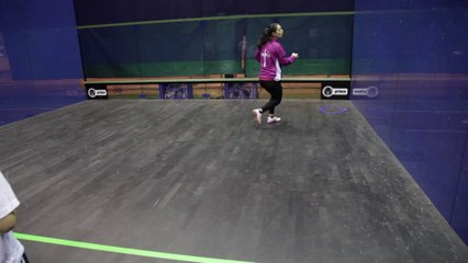 """Mini-Squash - Exercice """"L'amorti"""""""