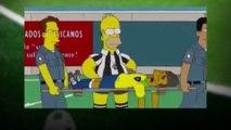 Brésil - Allemagne : Neymar blessé, les Simpson le savaient