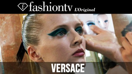 Jourdan Dunn, Daphne Groeneveld Backstage at Atelier Versace Fall 2014 | Paris Couture FW |FashionTV
