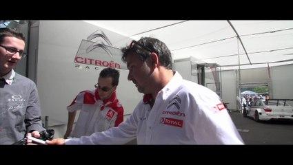 WTCC Lessons - Visitez le garage Citroën Racing avec Daniel Elena !