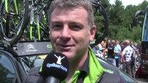 """Tour de France 2014 - Etape 4 - Gilles Pauchard : """"Peter Sagan est agacé"""""""