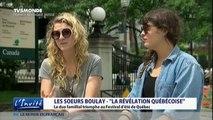 """Les soeurs Boulay Festival d'été de Quebec: """" Folles de bonheur"""""""