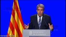 Cataluña recurrirá la sentencia del asedio al Parlament