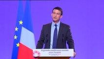 """Manuel Valls sur l'absence de certains syndicats lors de la Conférence sociale : un refus prolongé serait """"une posture incompréhensible"""""""