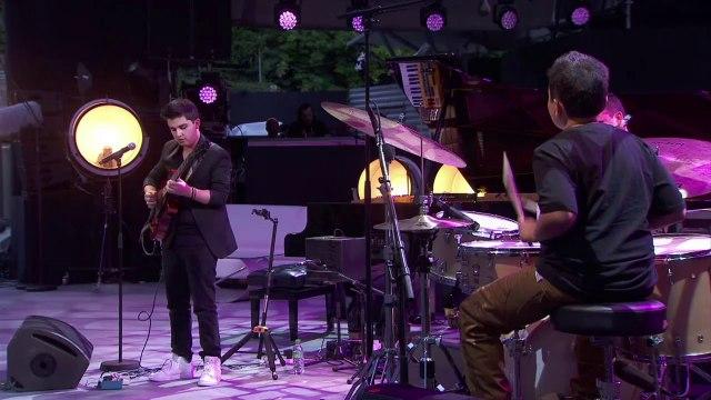 Jazz great Quincy Jones fosters new talent