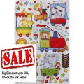 Best Price Extra Large Adorable Animal Circus Train Nursery/Kid's Room Peel & Stick Wall Decals Review