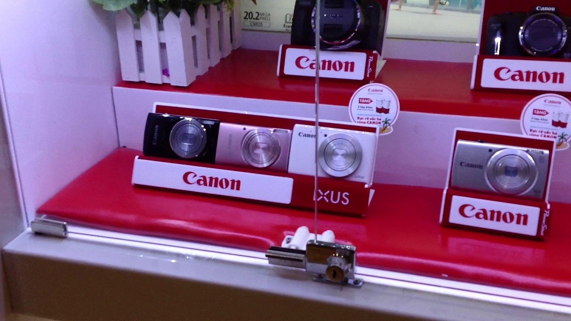 Đại lý bán buôn máy ảnh du lịch Canon chính hãng ở Hà Nội, tổng đại lý phân phối máy