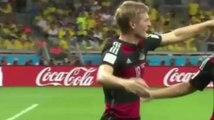 Gol Toni Kroos Brasil 0-3 Alemania - Mundial 2014 (Semifinal)
