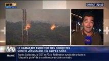"""Le Soir BFM: Conflit israélo-palestinien: Israël lance l'opération militaire """"Bordure Protectrice"""" - 08/07 3/5"""