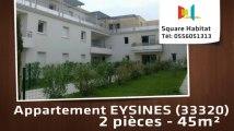 A louer - Appartement - EYSINES (33320) - 2 pièces - 45m²