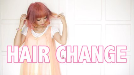 HAIR COLOR CHANGE 2014.6.20ver/FMH