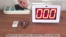 500M 4 Boutons Bouton d'Appel Sans Fil Et Hôte Du Récepteur