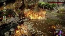 Dragon Age Inquisition Battle Vs Dragon E3 2014 EA Press Conference