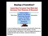 Discount on Franchise Ebooks: Learn The Best Way To Buy And Research Franchises