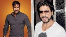 Shahrukh Khan Wishes  Ajay Devgn Good Luck For Singham Returns