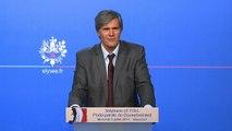 Point de presse de Stéphane Le Foll, porte-parole du Gouvernement, le mercredi 9 juillet