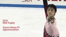 2010 NHK Trophy Yuzuru Hanyu FS