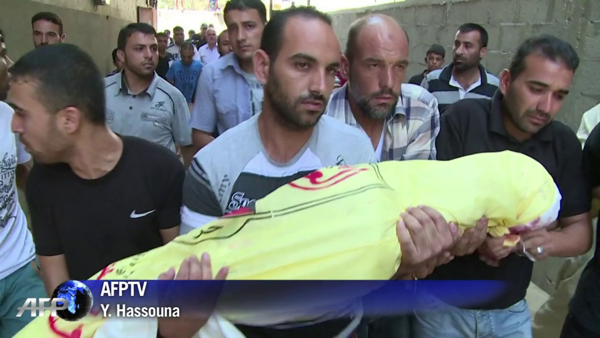 Father, his six sons killed in Israel air strike on Gaza