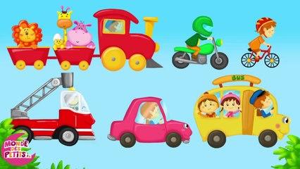 Dessin animé : Apprendre les transports pour les enfants