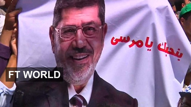 One year on from the ouster of Mohamed Morsi