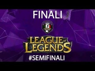 Semifinali 3°Campionato Personal Gamer di League of Legends