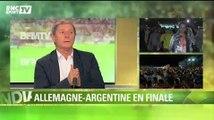 """Football / Larqué : """"L'Allemagne se frotte les mains"""" 09/07"""