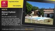 A vendre - maison - SALLES D AUDE (11110) - 8 pièces - 275m²