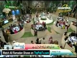 Pakistan Ramzan With Amir Liaquat By Express Entertainment - 12th July 2014 (Aftar) - part 7