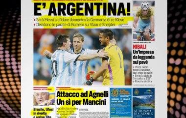 CALCIOINFO.IT - Rassegna stampa 10-07-2014