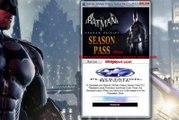Batman Arkham Origins Season Pass free Giveaway-Xbox 360 / PS3