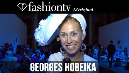 Georges Hobeika Couture Front Row ft Emma de Caunes, Eve Ana Kazic, Mouna Ayoub | FashionTV