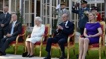 Elizabeth II était à Paris ce jeudi pour fêter le 70ème anniversaire du débarquement