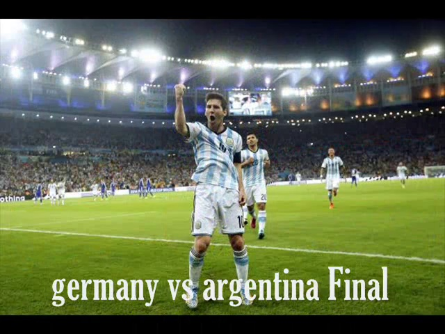 Live FIFA World Cup 2014 FINAL Telecast