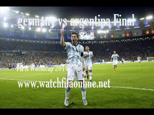 Live FIFA World Cup 2014 FINAL Now