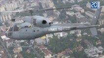 Vol au-dessus de Paris à bord d'un hélico du 14-Juillet