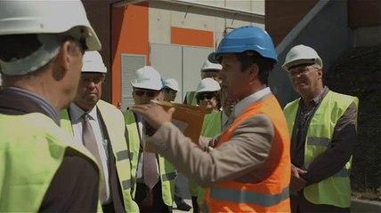 Inauguration de l'usine Seine Grésillons