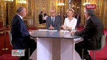 Duel entre Pierre Laurent et Jean-Michel Baylet - Duels au Sénat
