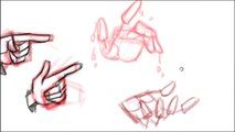 Animation Drawing Tutorial - How to draw Hands (A M Baig)