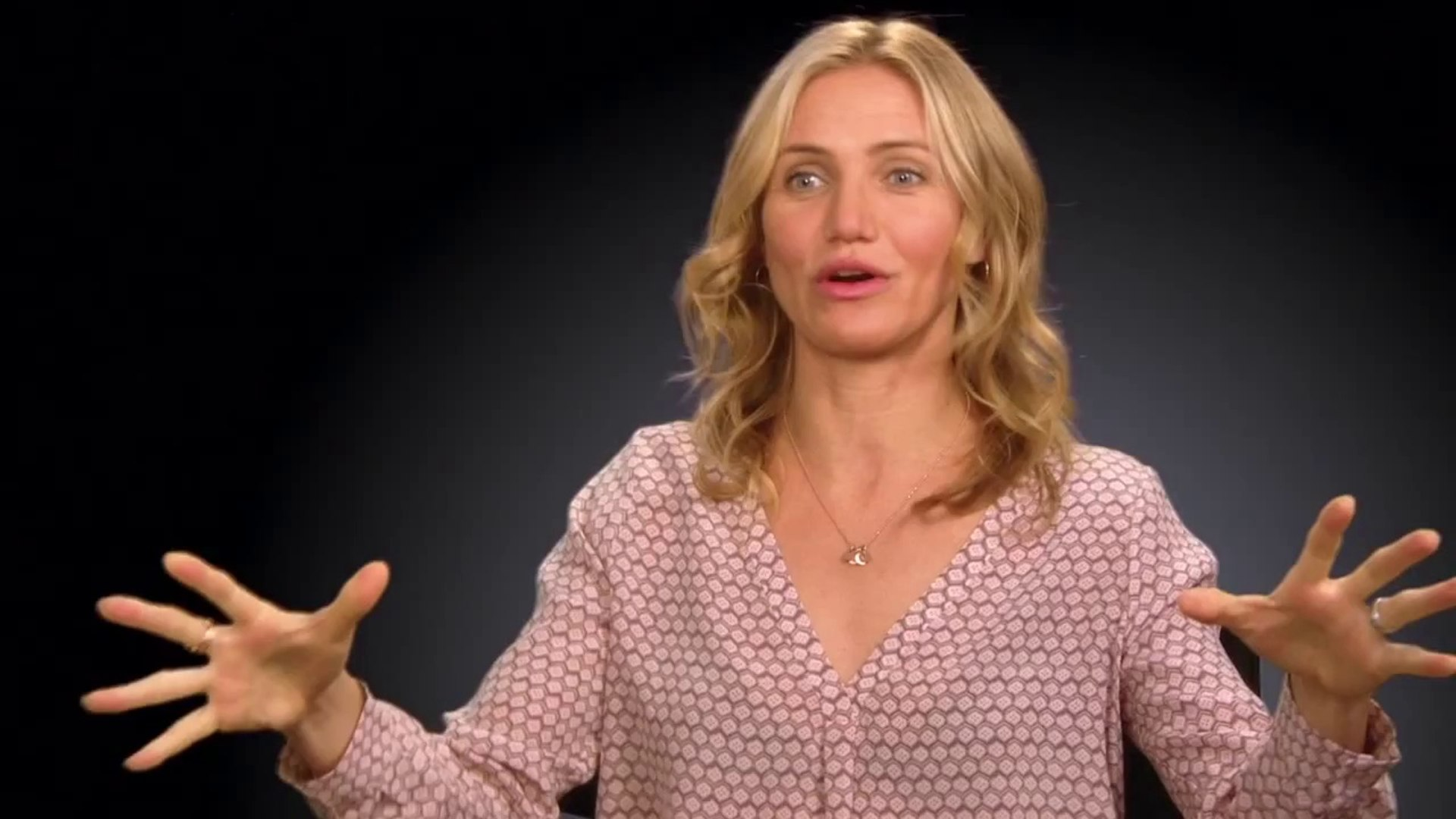 Sex Tape Interview - Cameron Diaz (2014) - Raunchy Sex Comedy HD