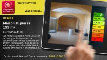 A vendre - maison - SAINT MARS LA JAILLE (44540) - 10 pièces - 199m²