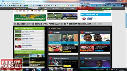 How Watch Football Highlights and News