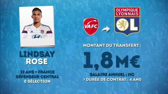 Officiel : Lindsay Rose rejoint l'Olympique Lyonnais !