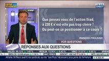 Les réponses de François Monnier et d'Andrzej Kawalec aux auditeurs, dans Intégrale Placements – 11/07 2/2