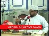 "ALLAMA ALI AKHTAR AWAN at JUMMA.""How to help the poors"""