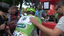 Tour de France 2014 - Etape 7 - Toute la déception de Peter Sagan 2e à Nancy