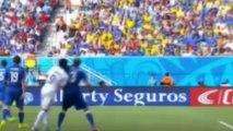 Mordida de Luis Suarez Uruguay a Giorgio Chiellini Italia Mu