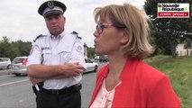 VIDEO. Poitiers : contrôles de police sur la route des départs