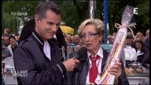 2014/07/10 12h55 Canal+ France 3 ► Comment Bien Sucer !! Madeleine la Spécialiste de la Sucette Village Départ Tour de France Zapping France Télévision Jeudi 10 Juillet 2014