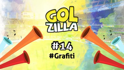Grafiti - Golzilla #14 (Dünya Kupası Özel)