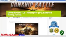 [NEW] GUNSHIP BATTLE Helicopter 3D Android iOS Hack Cheats Unlimited Money/Gold